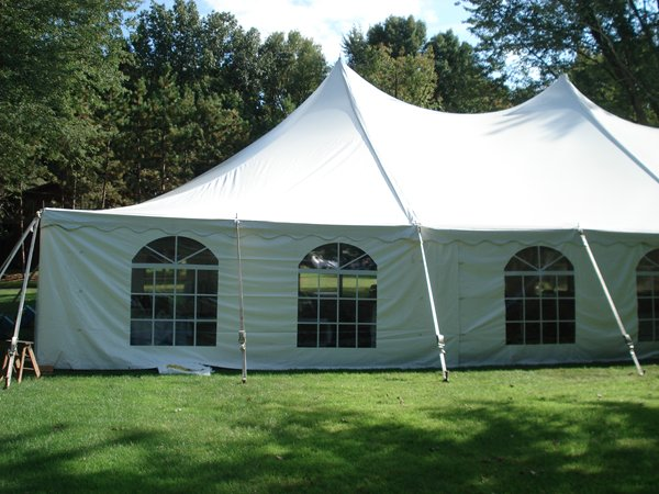 & 8u0027 Tall Tent Side Curtains | Baker Tent Rental